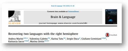 Riabilitazione dei deficit linguistici nei pazienti con afasia